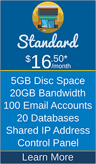 Masscot Internet, Inc. - Standard Hosting Package