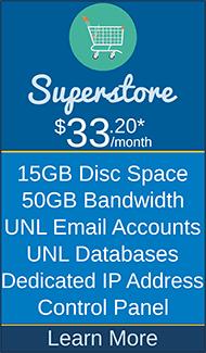 Masscot Internet, Inc. - Superstore Hosting Package