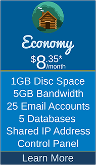 Masscot Internet, Inc. - Economy Hosting Package