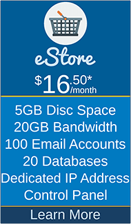 Masscot Internet, Inc. - eStore Hosting Package