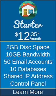 Masscot Internet, Inc. - Starter Hosting Package